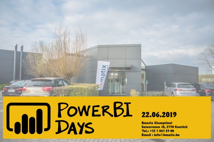 Bmatix hosts Power BI Days Belgium
